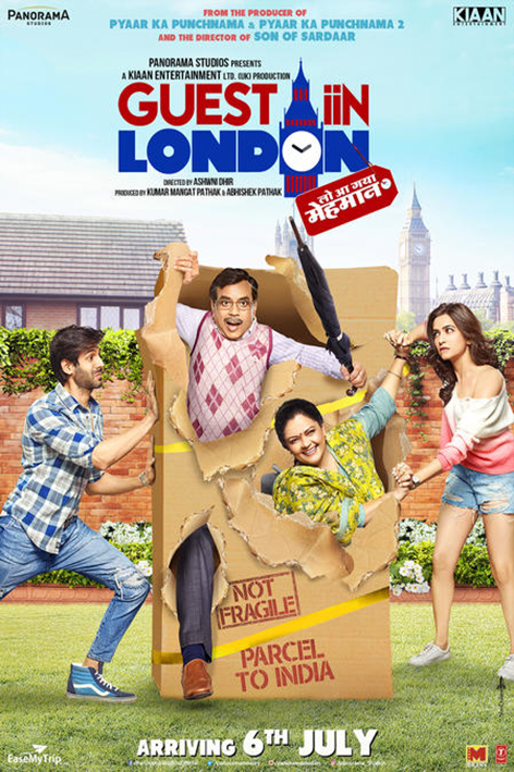 Guest iiN London [2017 India Movie] Comedy, Drama
