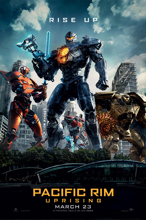 Pacific Rim 2 Uprising [2018 USA, China & UK Movie] Action, Sci Fi