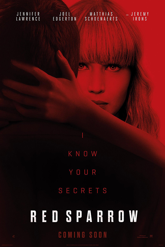 Red Sparrow [2018 USA Movie] Drama, Mystery, Thriller