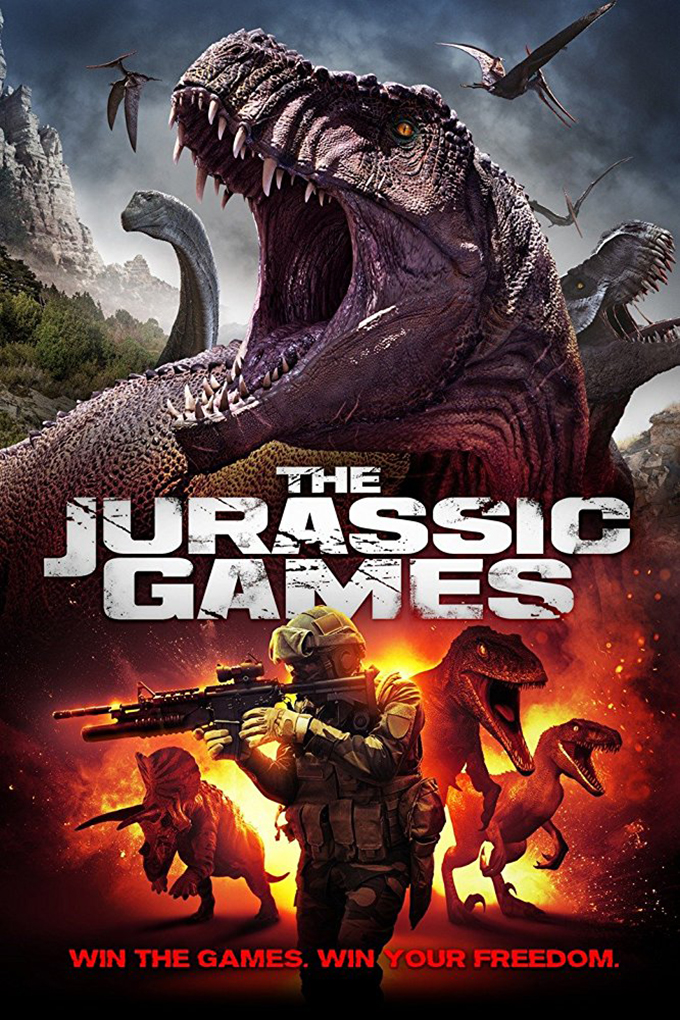 The Jurassic Games [2018 USA Movie] Sci Fi, Thriller