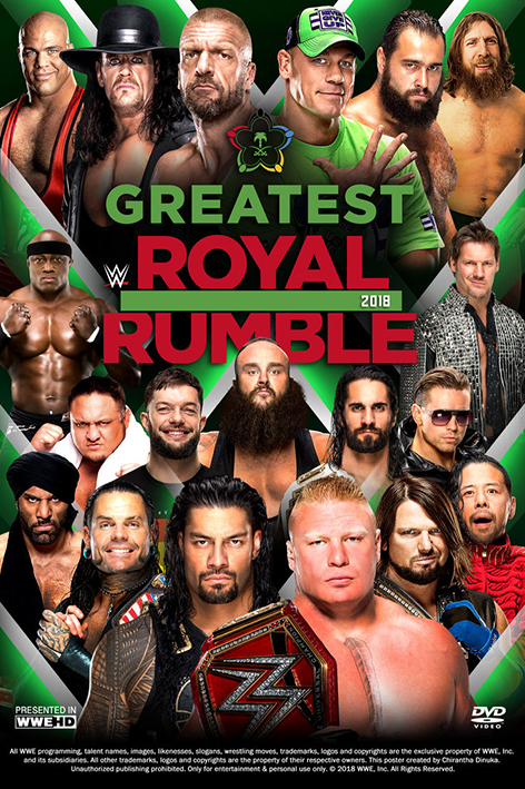 WWE Greatest Royal Rumble 2018 [2018 USA Show] Sport