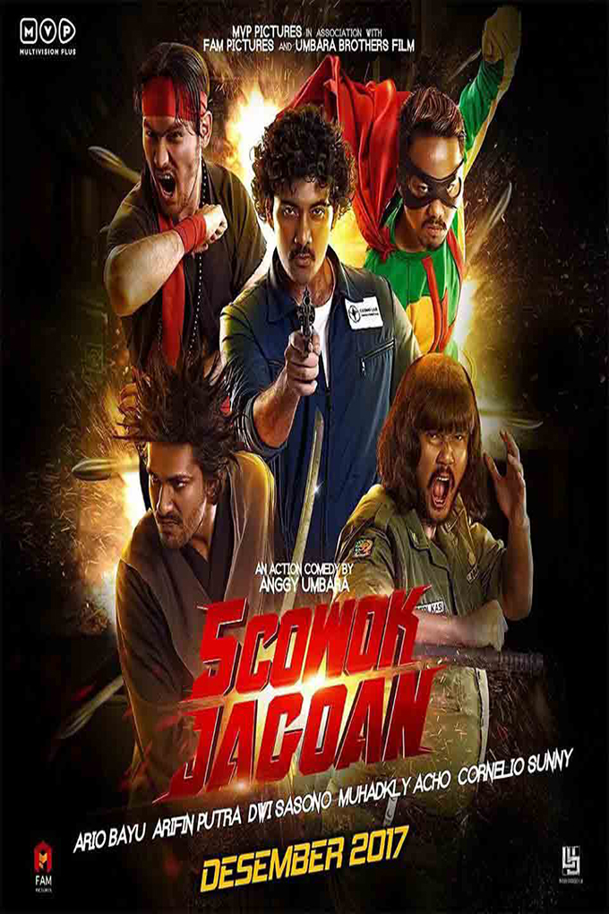 5 Cowok Jagoan [2017 Indonesia Movie] Action