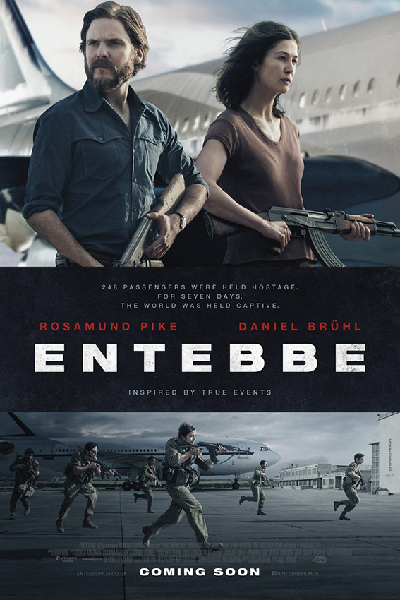 7 Days in Entebbe [2018 USA & UK Movie] Drama, Crime, True Story