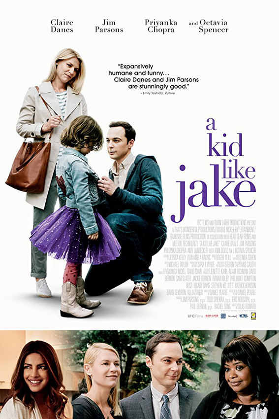 A Kid Like Jake [2018 USA Movie] Drama, Family
