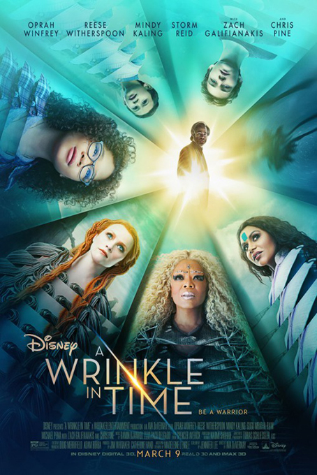A Wrinkle In Time [2018 USA Movie] Adventure, Family, Fantasy, Sci Fi