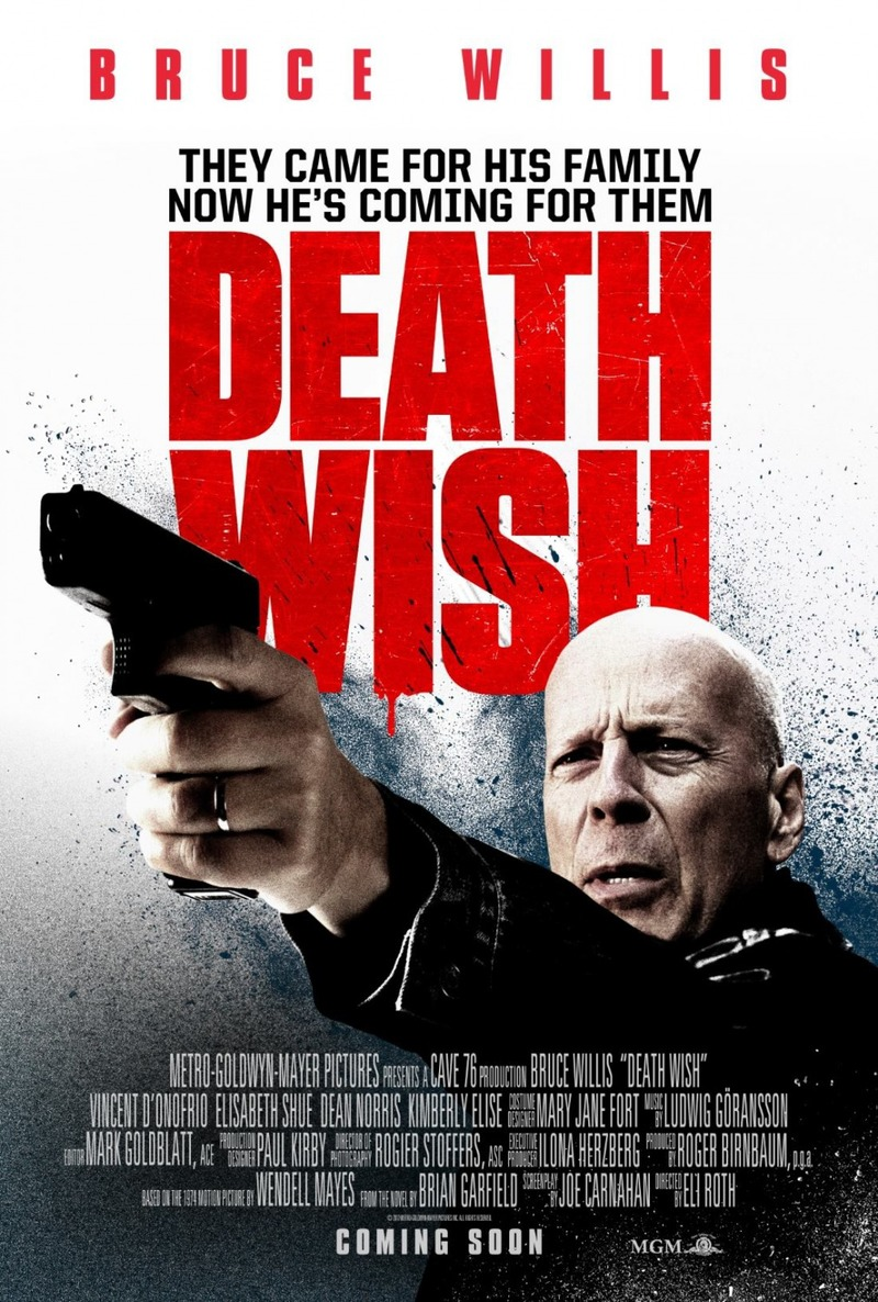 Death Wish [2018 USA Movie] Action, Crime, Drama