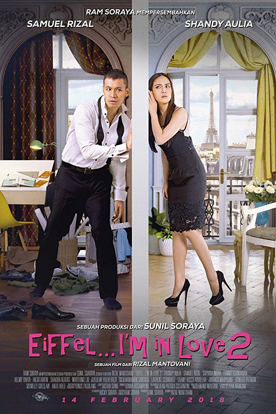 Eiffel I'm in Love 2 [2018 Indonesia Movie]  Drama, Romance