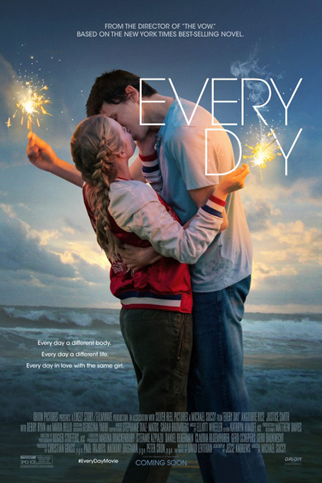 Every Day [2018 USA Movie]  Drama, Fantasy, Romance