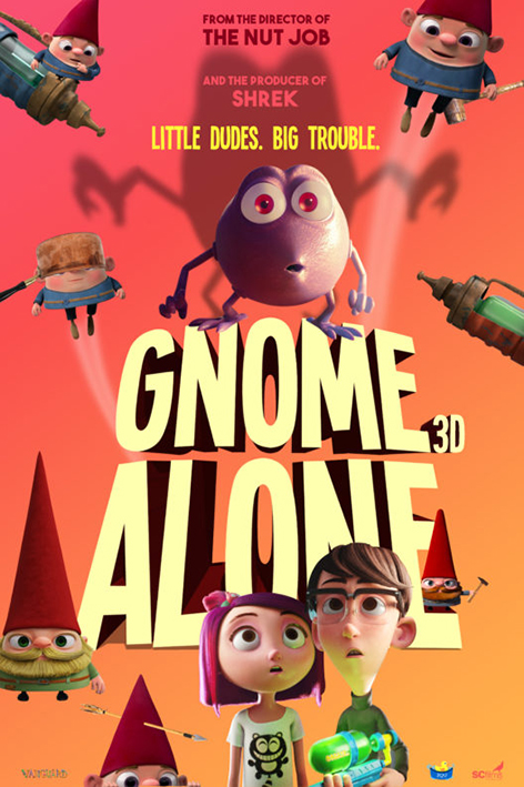 Gnome Alone [2018 USA Movie] Animation, Family
