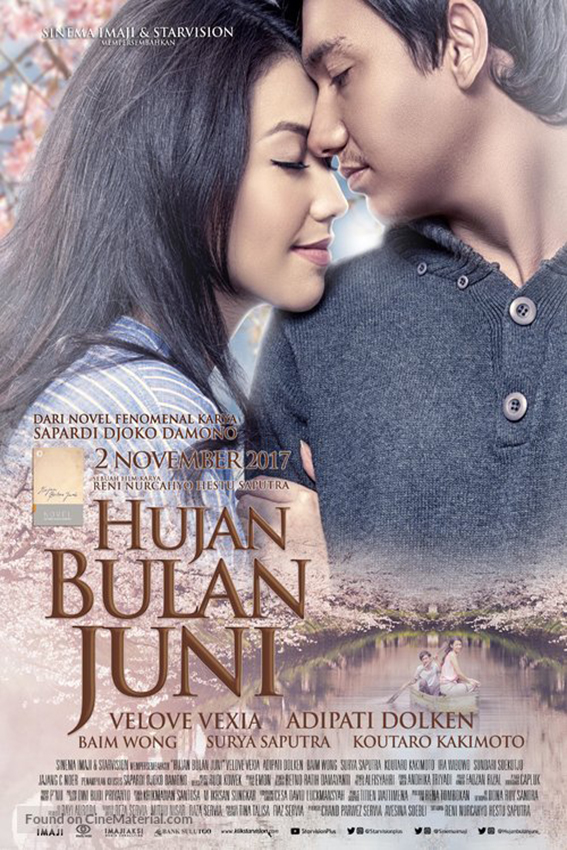 Hujan Bulan Juni [2017 Indonesia Movie] Romance