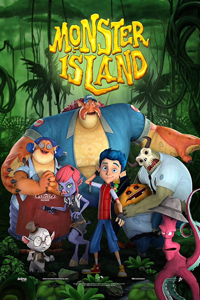 Monster Island [2017 India & Mexico Movie] English Animation, Family