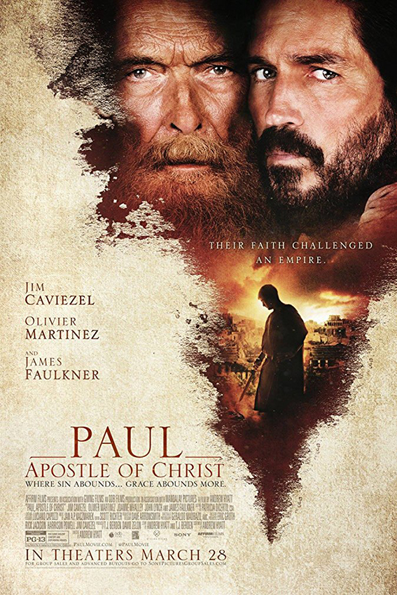 Paul Apostle of Christ [2018 USA Movie] Drama, History