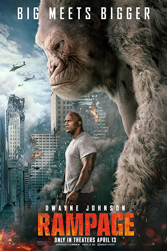 Rampage [2018 USA Movie] Action, Adventure, Sci Fi