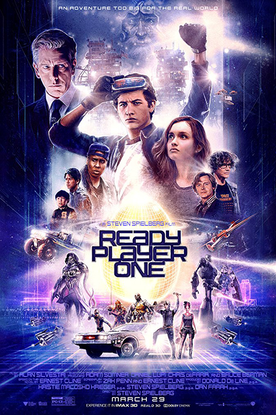 Ready Player One [2018 USA Movie] Action, Adventure, Sci Fi