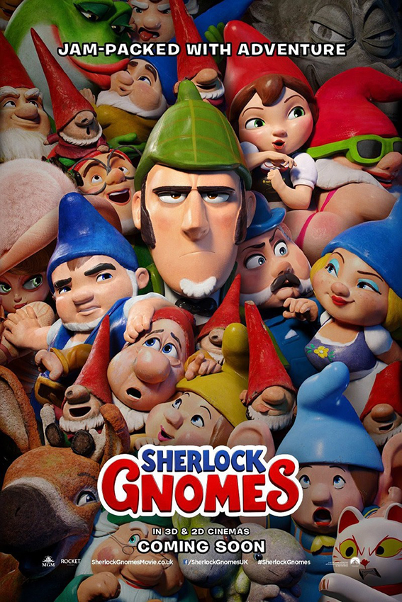 Sherlock Gnomes [2018 USA Movie] Animation, Family