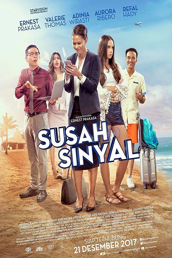 Susah Sinyal [2017 Indonesia Movie] Comedy, Drama, Family