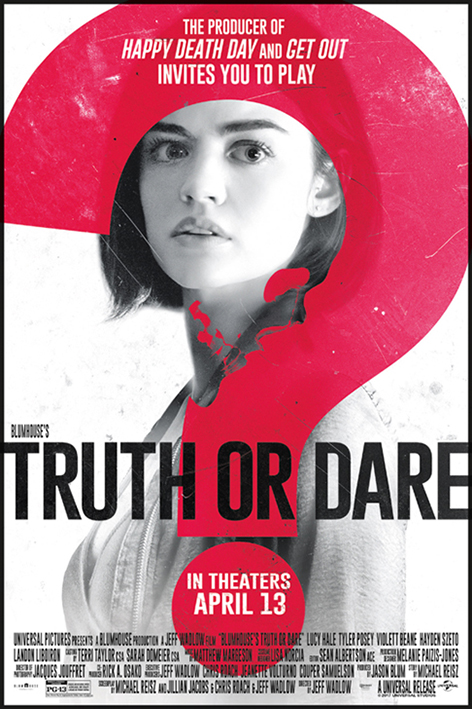 Truth or Dare [2018 USA Movie] Horror, Thriller