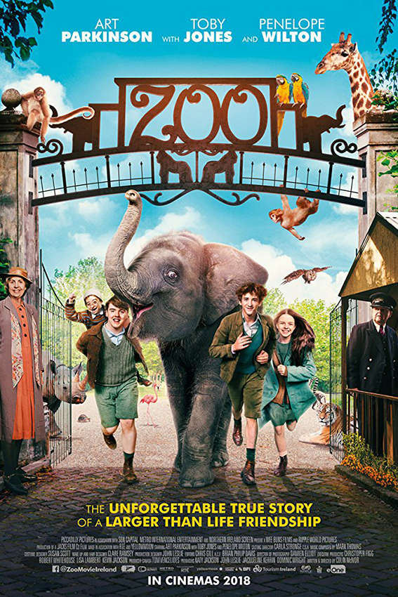 Zoo [2017 Ireland & UK Movie] Drama, Family, History, War