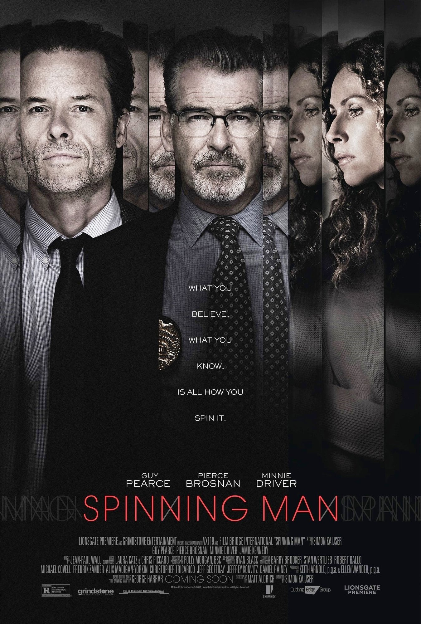 Spinning Man [2018 USA, Sweden & Ireland Movie] Drama, Mystery, Thriller