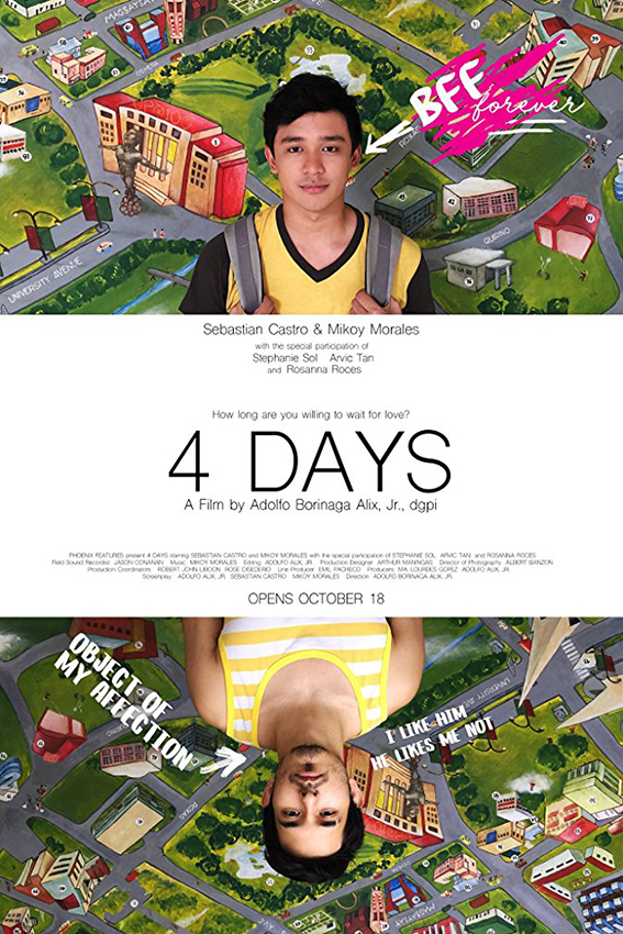 4 Days  [2016 Philippines Movie] Drama