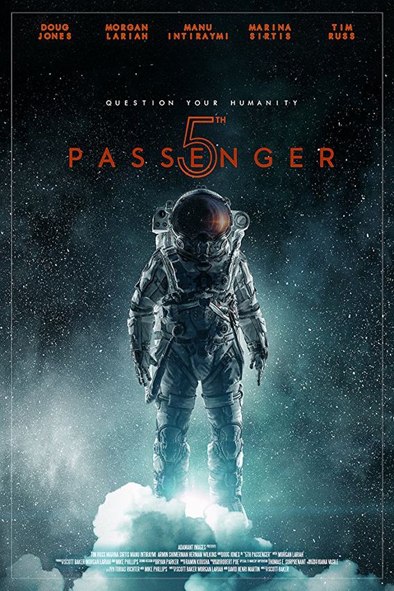 5th Passenger [2018 USA Movie] Sci Fi