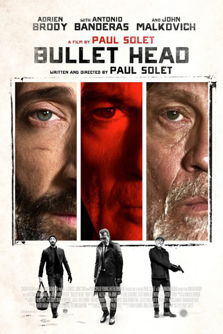 Bullet Head [2017 USA & Bulgaria Movie] Action, Thriller