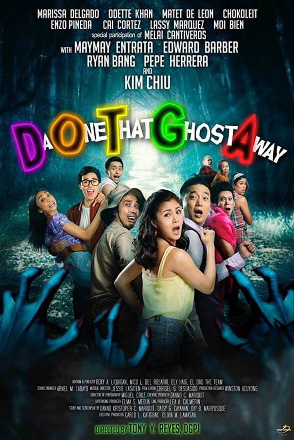 DOTGA: Da One That Ghost Away [2018 Philippines Movie] Horror, Comedy