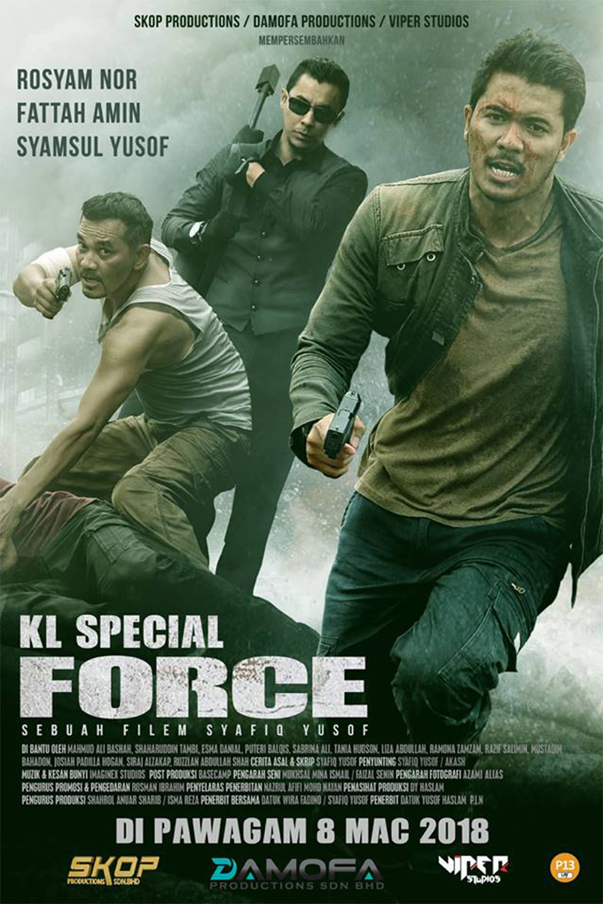 KL Special Force [2018 Malaysia Movie] Action