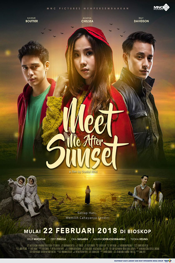 Meet Me After Sunset [2018 Indonesia Movie] Romance, Drama