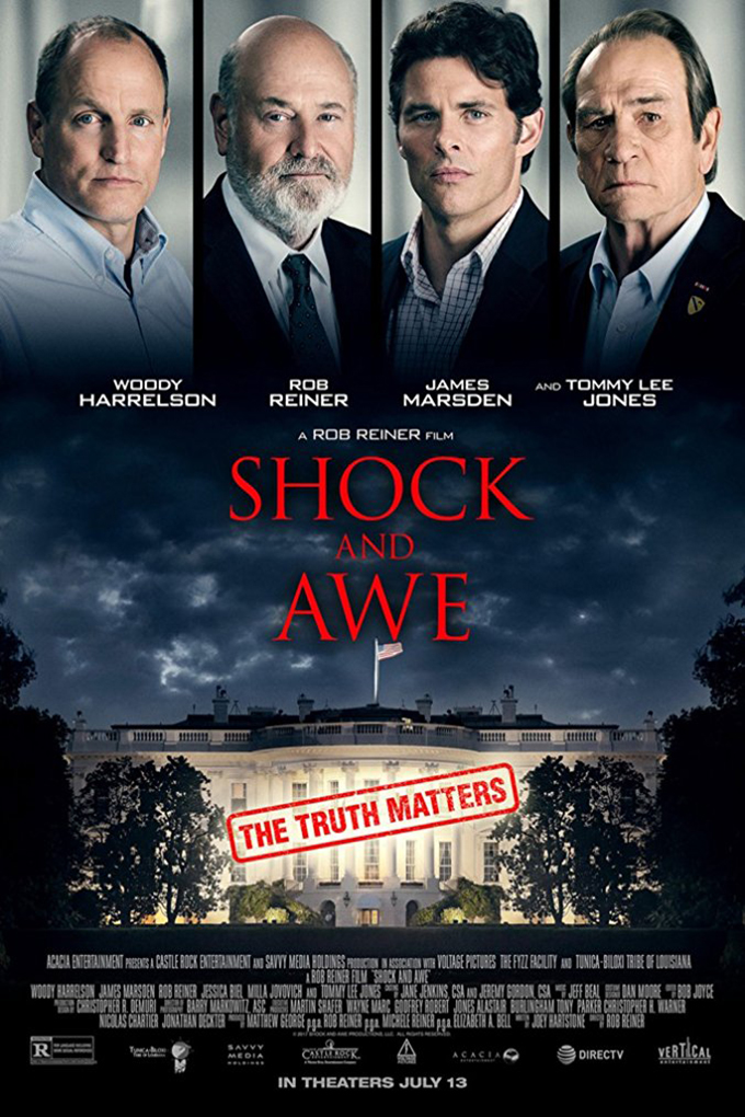 Shock and Awe [2018 USA Movie] Drama, Biography, True Story