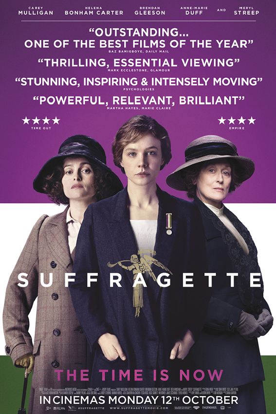 Suffragate [2015 UK & France Movie] Drama, True Story