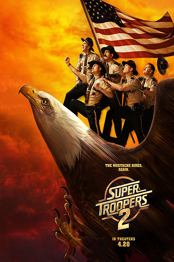Super Troopers 2 [2018 USA Movie] Comedy, Crime, Mystery