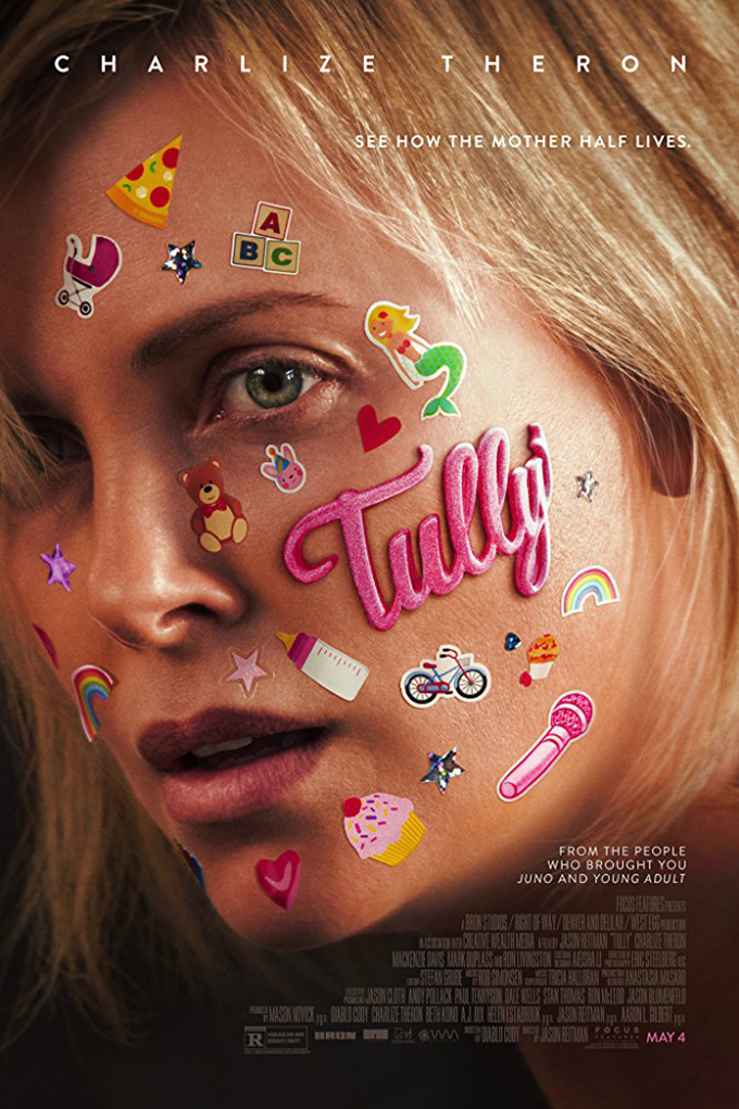 Tully [2018 USA Movie] Comedy, Drama