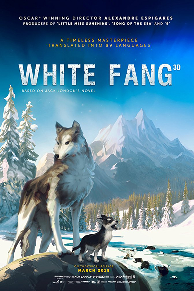 White Fang [2018 USA, France & Luxembourg Movie] Animation, Adventure, Family  English