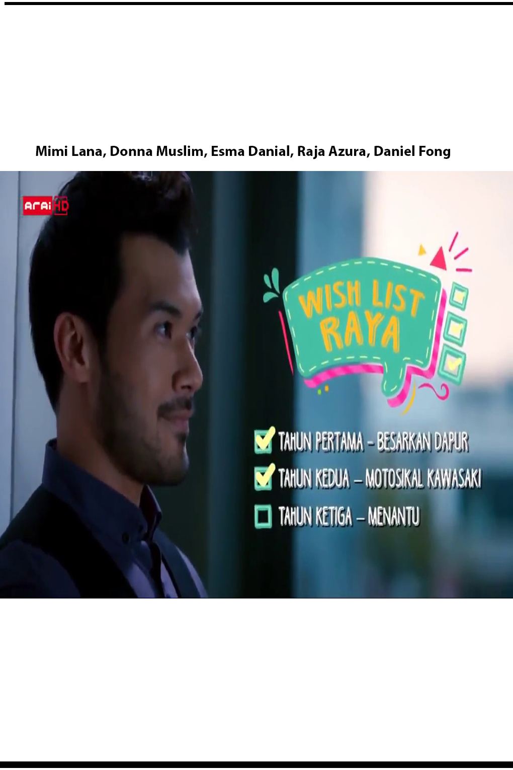Wish List Raya [2018 Malaysia Movie Raya] Drama, Raya