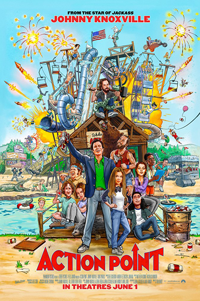 Action Point [2018 USA Movie] Comedy