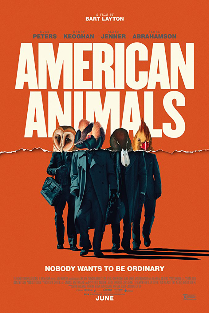 American Animals [2018 USA & UK Movie] Crime, Drama