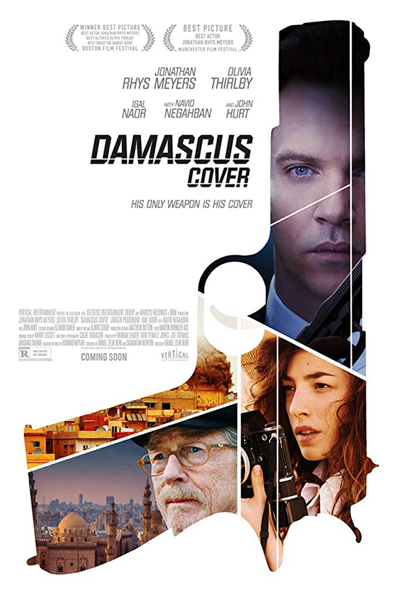 Damascus Cover [2018 UK Movie] Mystery, Thriller