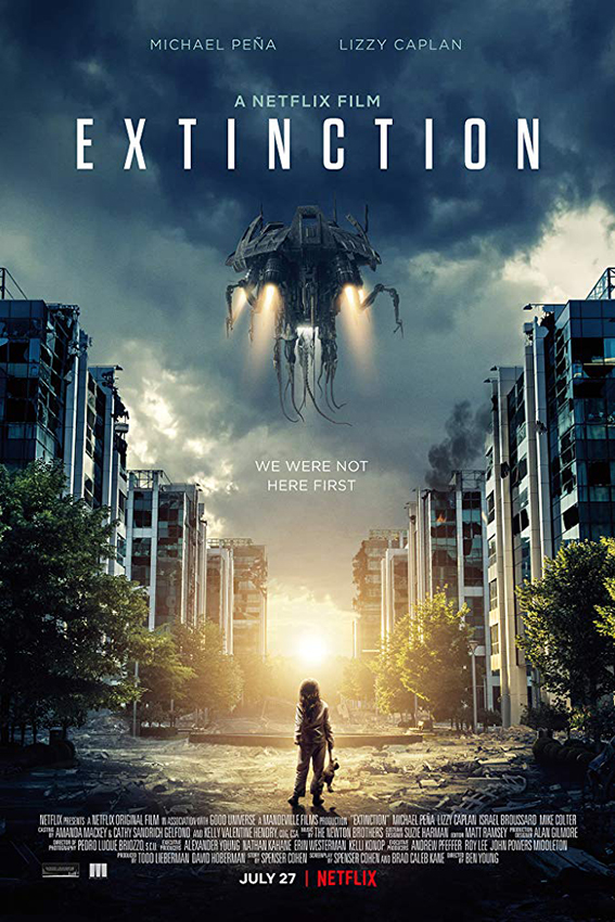 Extinction [2018 USA Movie] Fantasy, Sci Fi, Thriller