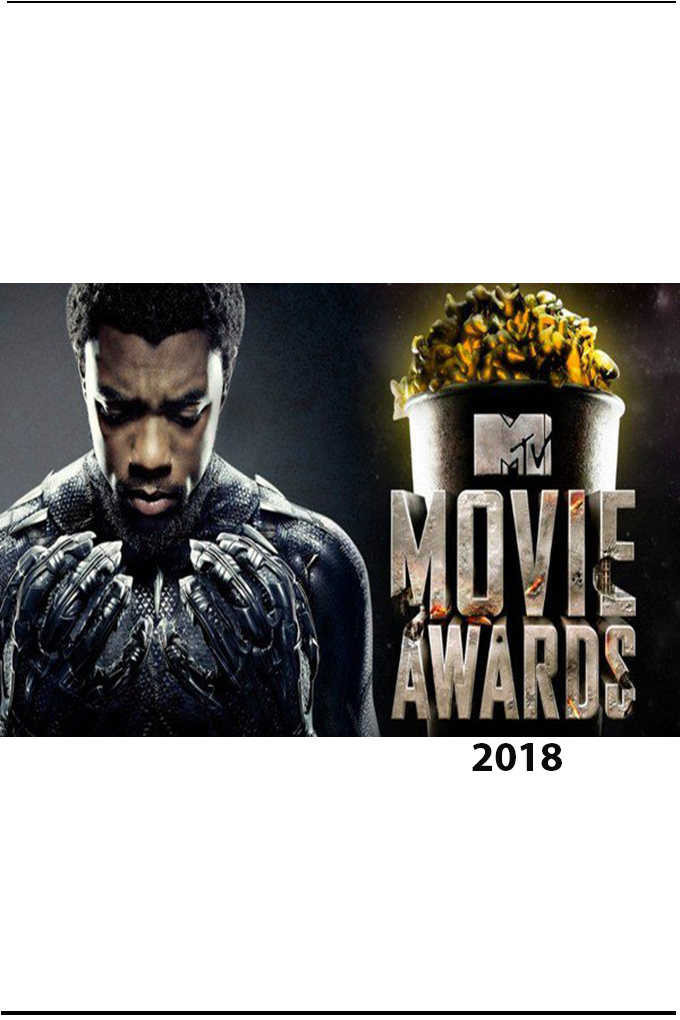 MTV Movie and TV Awards [2018 USA Movie] Show