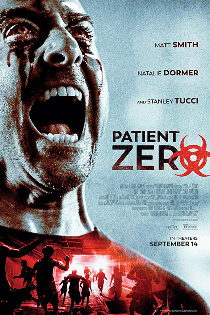 Patient Zero [2018 UK Movie] Action, Drama, Horror