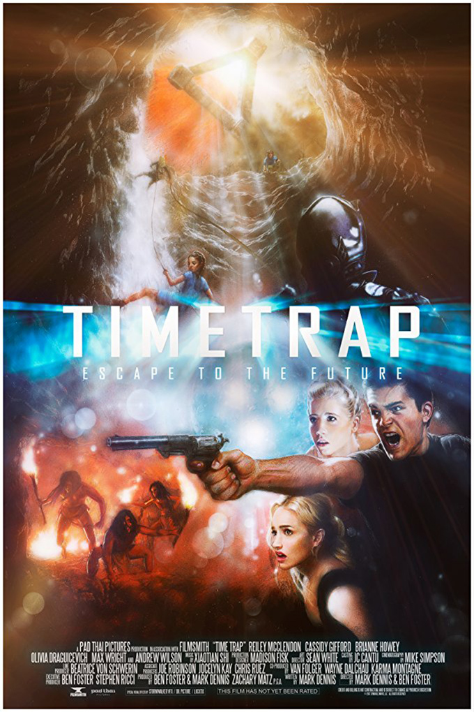 Time Trap [2017 USA Movie] Action, Adventure, Sci Fi