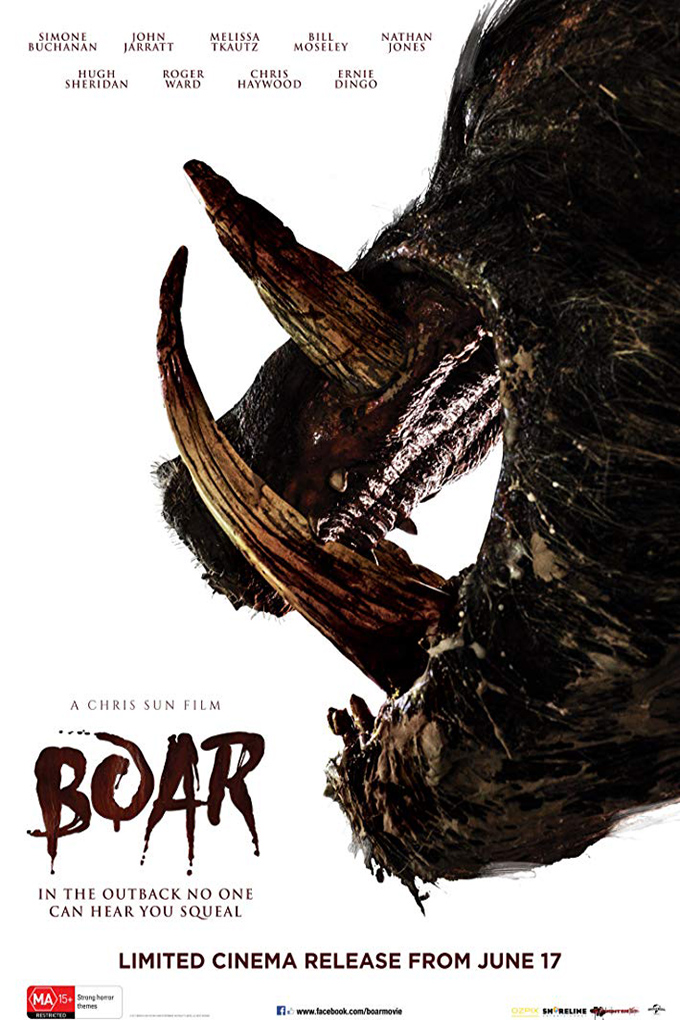 Boar [2017 Australia Movie] Horror