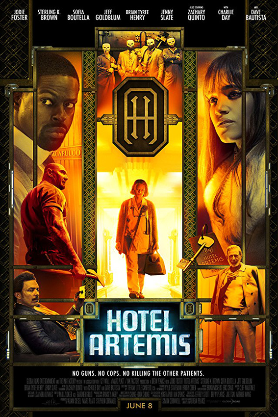 Hotel Artemis [2018 UK & USA Movie] Action, Crime, Thriller