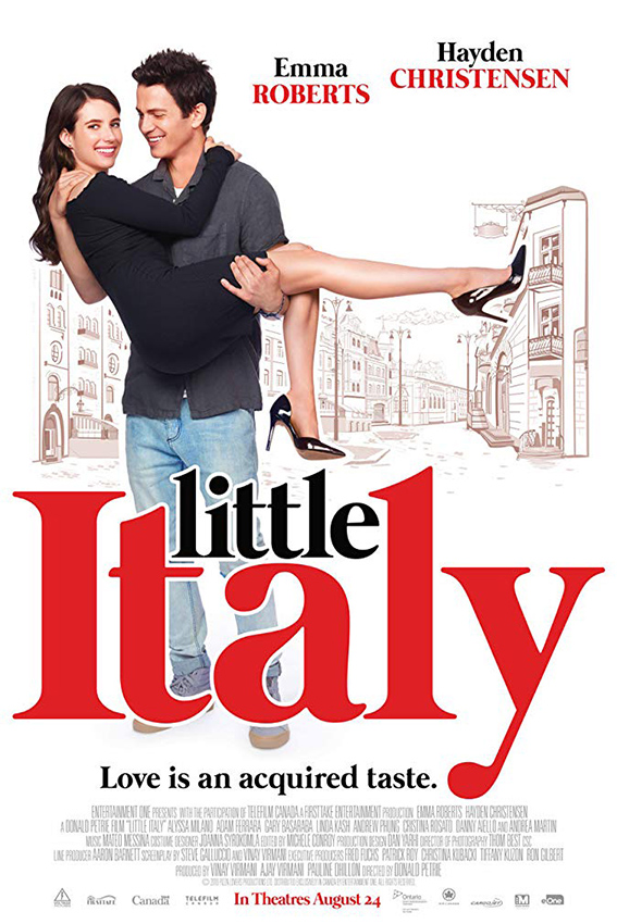 Little Italy [2018 USA & Canada] Comedy, Romance