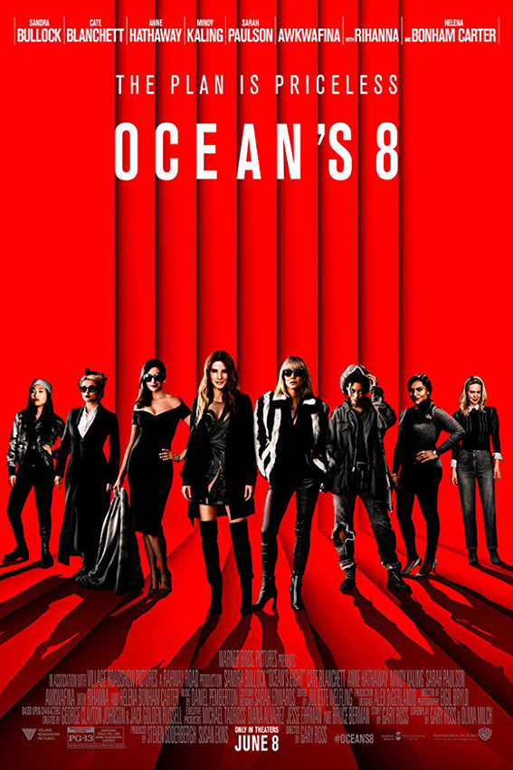 Ocean's Eight [2018 USA Movie] Action, Comedy, Crime