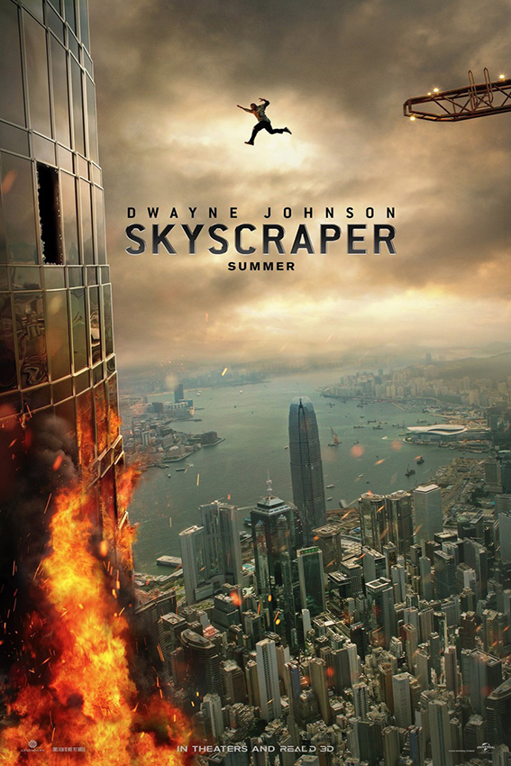 Skyscraper [2018 USA Movie] Action, Thriller