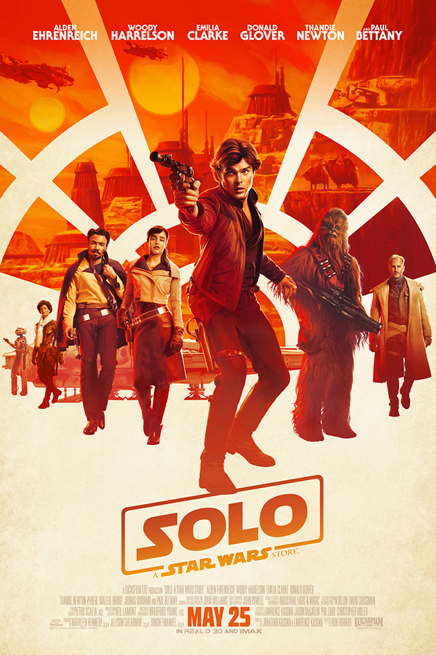 Solo: A Star Wars Story [2018 USA Movie] Action, Adventure, Fantasy