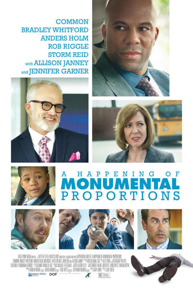 A Happening of Monumental Proportions [2018 USA Movie] Comedy