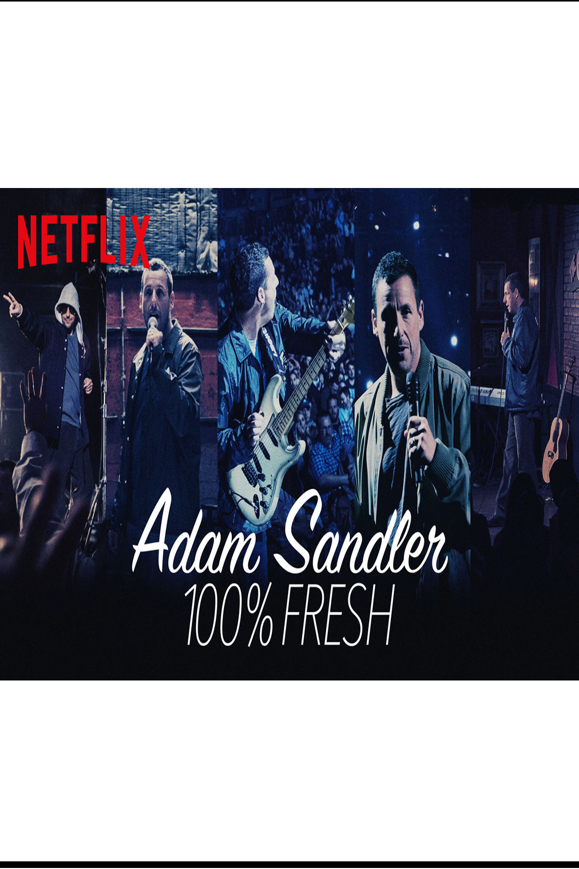 Adam Sandler 100% Fresh [2018 USA Movie] Stand Up, Comedy